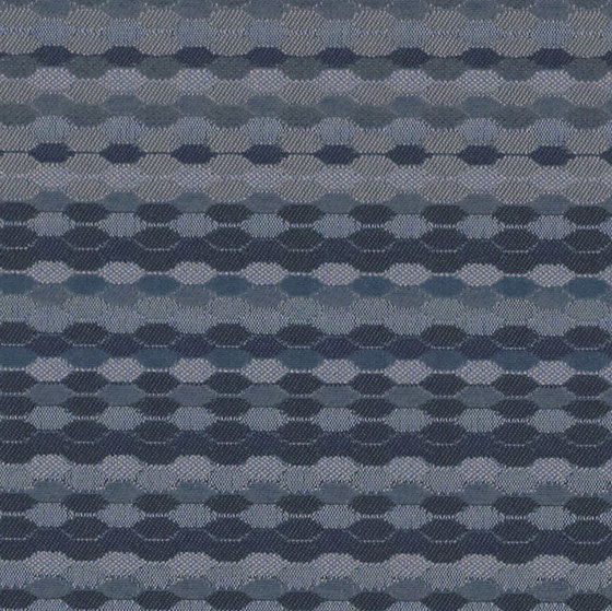 Beaded Stripe | Lazuli by Luum Fabrics | Recycled synthetics