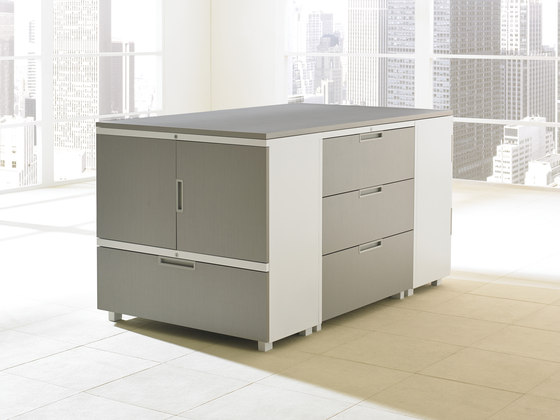 Ledger & Ledger Plus by Teknion | Sideboards