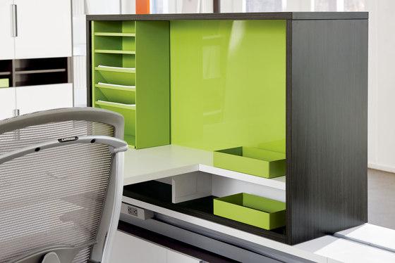 upStage Storage de Teknion | Portaobjetos