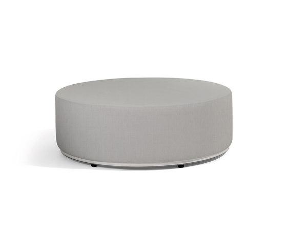 Moon island louge table/footstool 104 von Manutti | Poufs / Polsterhocker