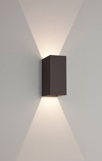 Oslo 160 LED Black by Astro Lighting | Outdoor wall lights