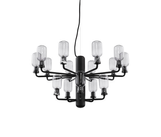 Amp Chandelier small by Normann Copenhagen | Suspended lights