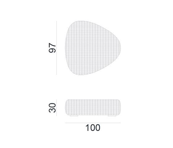 InOut 626 de Gervasoni | Tables basses