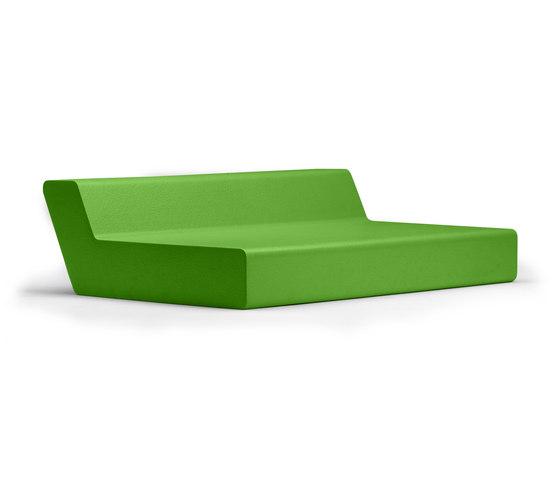 Matrass seat 150 di Quinze & Milan | Sdraio da giardino