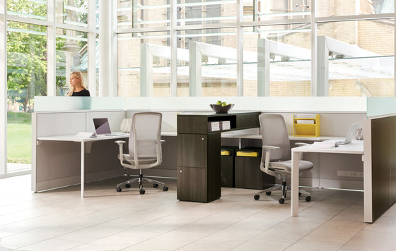 Leverage by Teknion | Table dividers