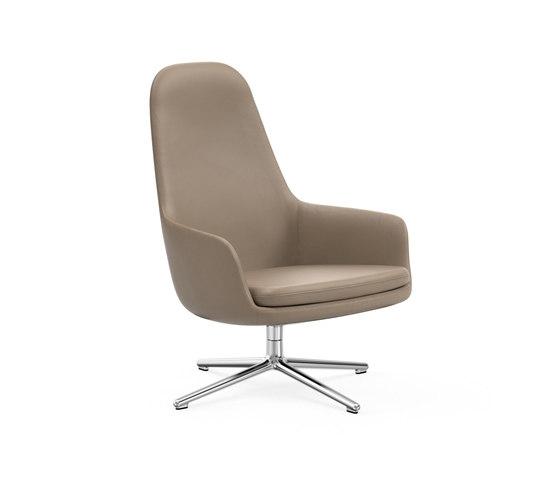 Era Lounge-Sessel hoch mit Drehgestell von Normann Copenhagen | Sessel