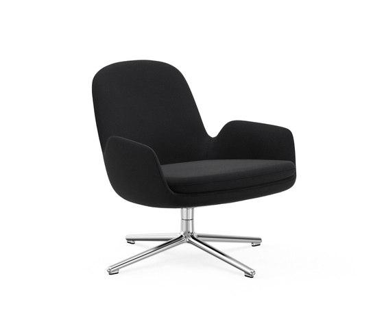 Era Lounge-Sessel niedrig mit Drehgestell von Normann Copenhagen | Sessel