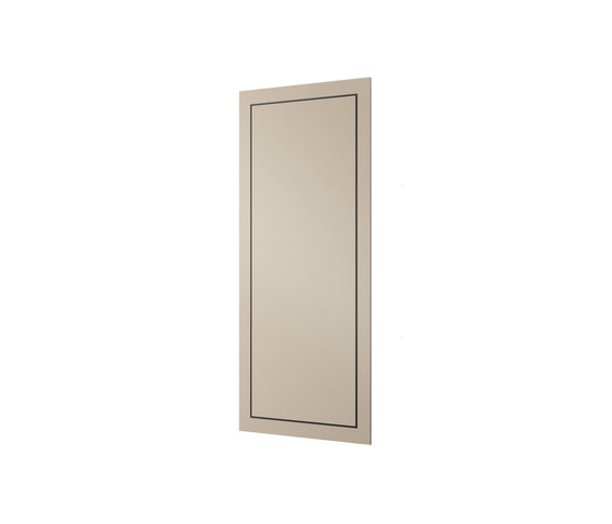 FURNITURE | Built-in cabinet with magnifying mirror | Greige by Armani Roca | Wall cabinets
