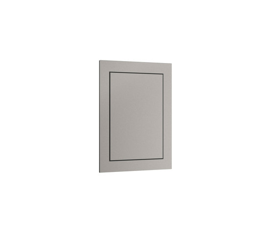 FURNITURE | Built-in cabinet for retractable shower jet for intimate hygiene or toilet-jet for WC cleaning. | Silver by Armani Roca | Wall cabinets