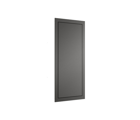 FURNITURE   Built-in cabinet with magnifying mirror   Nero by Armani Roca   Wall cabinets