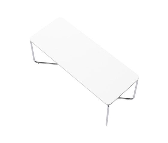 HELIOS Table system with foldable table base de Joval | Tables de repas