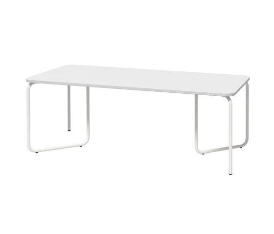 HELIOS Table system with foldable table base de Joval   Tables de repas