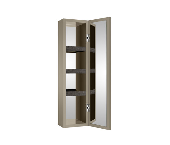 FURNITURE | Wall hung column unit with door which opens 180º. | Greige by Armani Roca | Wall cabinets