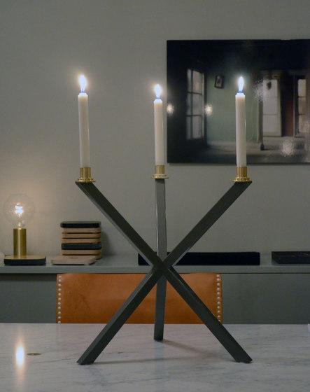 NEB Candelabra medium by No Early Birds | Candlesticks / Candleholder