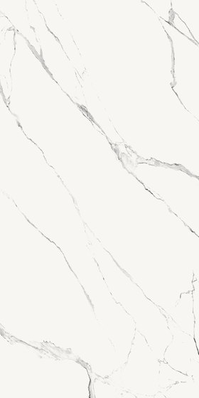 Ava - Extraordinary Size - I Marmi - Statuario Splendente von La Fabbrica | Keramik Fliesen