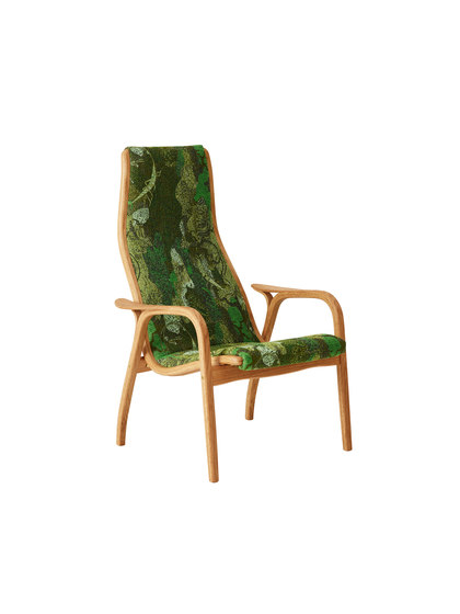 Lamino easy chair nature von Swedese | Sessel