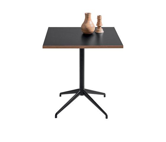 Alis Square Table von Discipline | Bistrotische