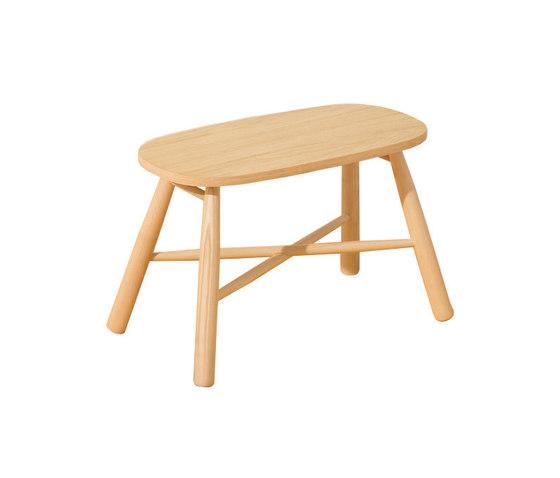 Tag Stool Coffee Table de Discipline | Mesas de centro