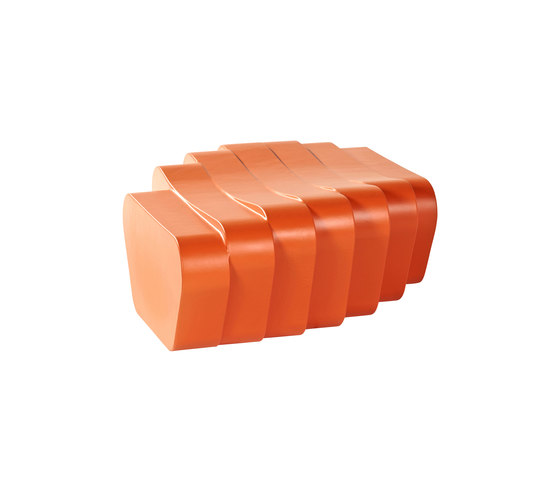 Cliffy Pouf by sixinch | Garden benches