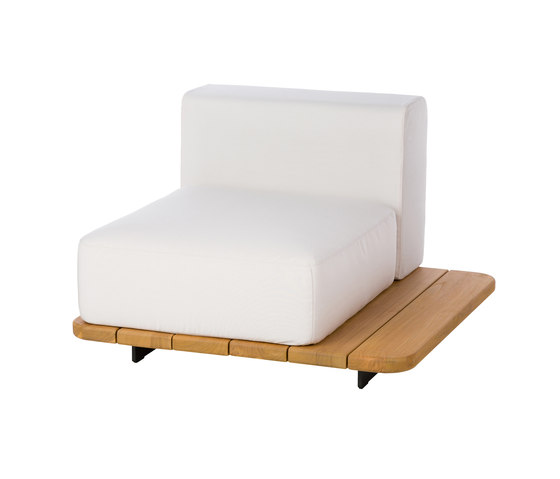 Pal | Right Single Seat & Back by Point | Armchairs