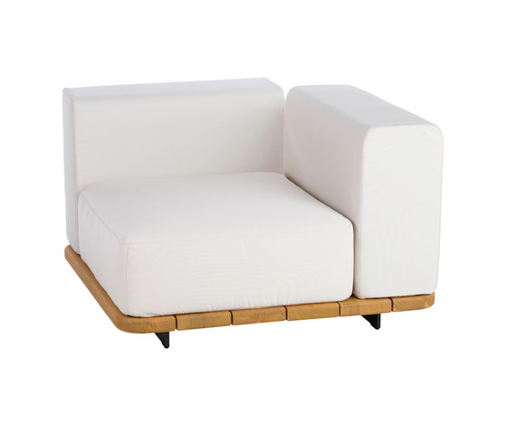 Pal | Single Seat & Back + Left Arm by Point | Armchairs