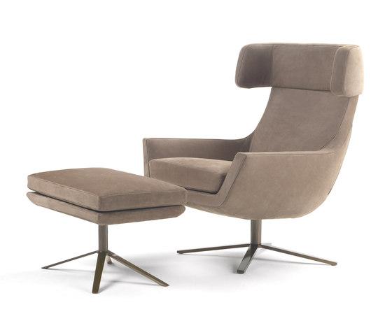 Joy swivel armchair de Marelli   Fauteuils d'attente