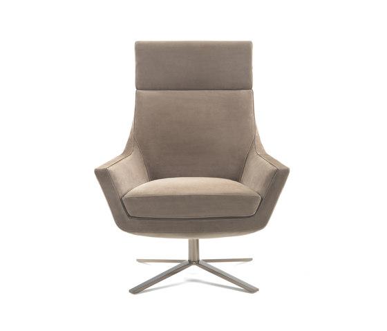 Joy swivel armchair by Giulio Marelli   Lounge chairs