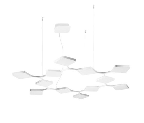 Quad_P12 by Stilnovo | Suspended lights