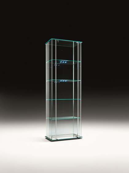 MILO DAY LED by Fiam Italia | Display cabinets