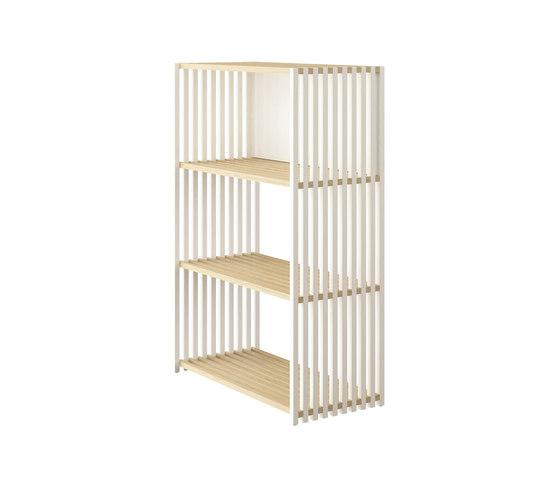 Rebar Foldable Shelving System Shelf 3.0 de Joval | Estanterías de baño