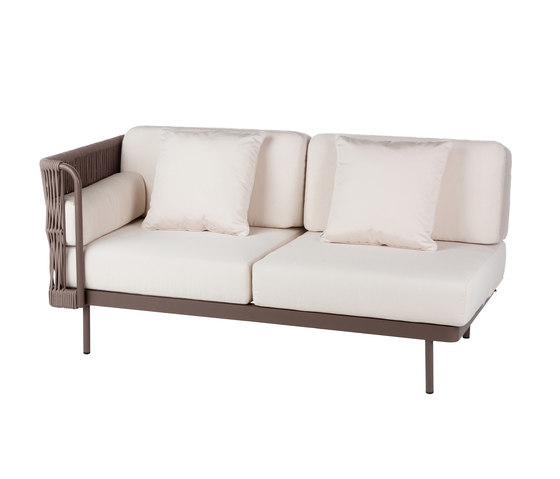 Weave Modular 2 right arm by Point | Sofas
