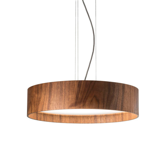 LARAwood | Pendant lamp by Domus | Suspended lights