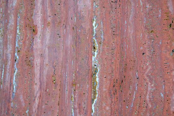 Material Travertino Rosso de Van den Weghe | Panneaux en pierre naturelle