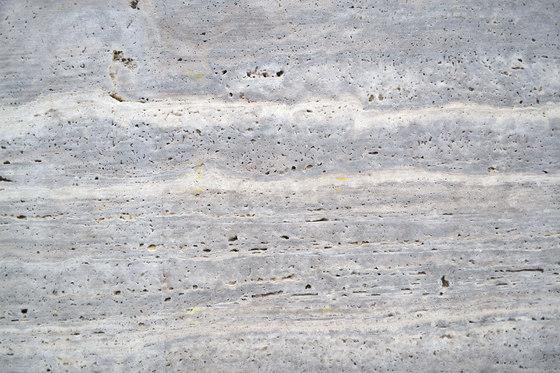Material Travertin Titanium de Van den Weghe | Panneaux en pierre naturelle