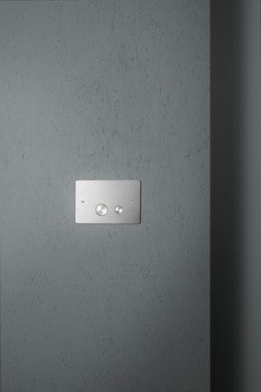 Bits & Pieces | Placca per cassetta a doppio flusso Geberit di Quadro | Rubinetteria per WC
