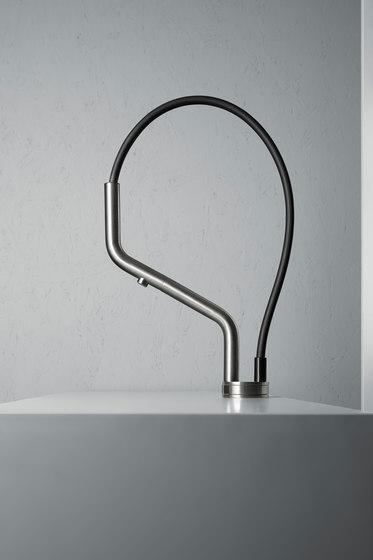 Kitchen Inox | Stainless steel Kitchen sink mixer de Quadrodesign | Griferías de cocina