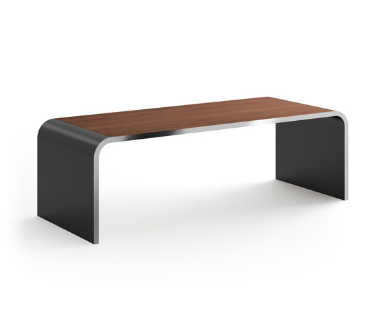 Highline M10 Desk de Müller Möbelfabrikation | Tables collectivités
