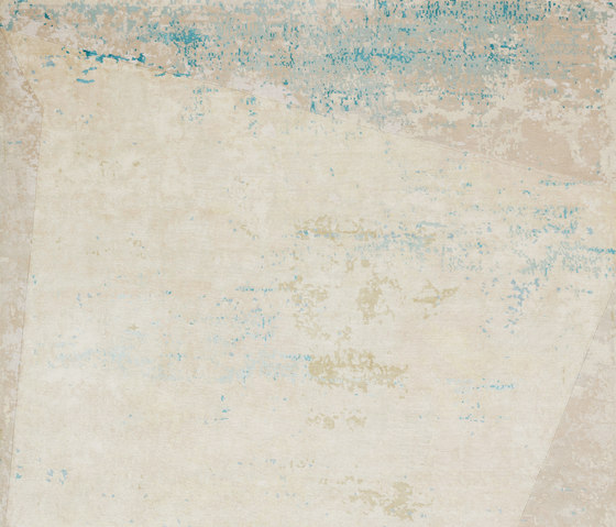 Texture - Shallow square cobalt by REUBER HENNING | Rugs