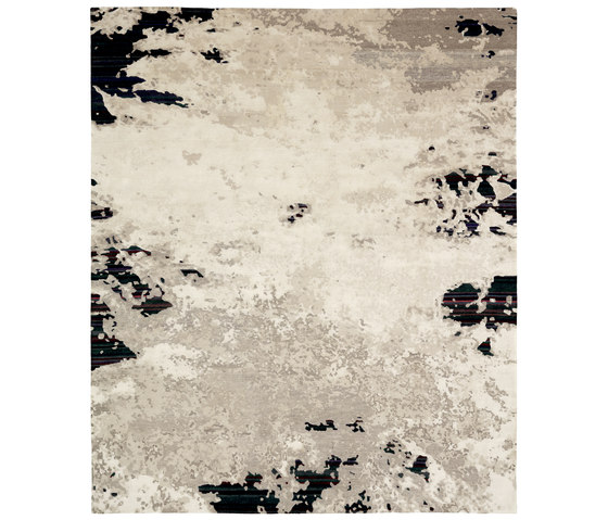 Texture - Shallow stripes dark by REUBER HENNING | Rugs