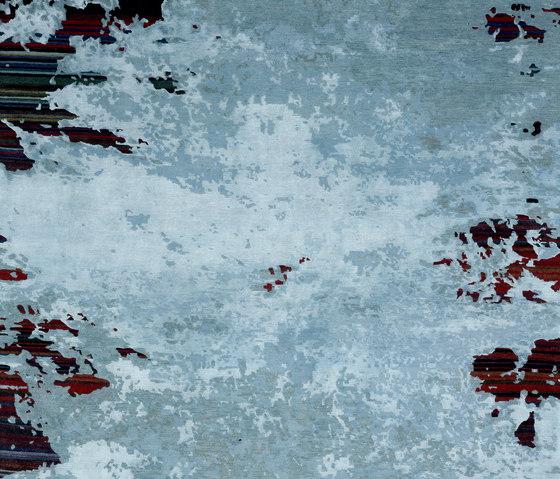 Texture - Shallow stripes ghost von REUBER HENNING | Formatteppiche