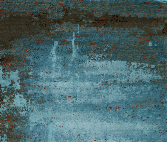 Texture - Shallow turquoise by REUBER HENNING | Rugs