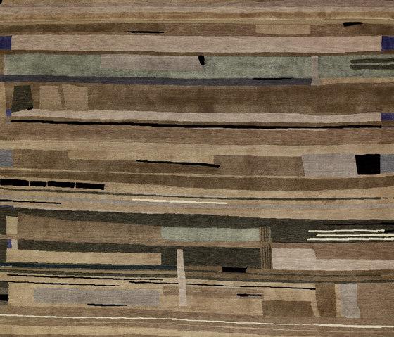 Rag Time - Tin Pan Alley grey brown von REUBER HENNING | Formatteppiche