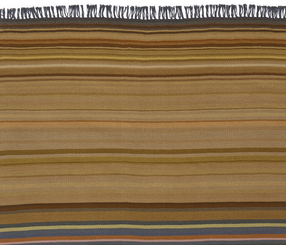 Flatweave - Stripes Summerland von REUBER HENNING | Formatteppiche