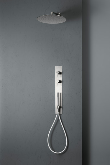 Volcano | Wall mounted 2 mixer set by Quadro | Shower controls