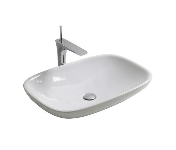 Clear - Countertop washbasin by Olympia Ceramica | Wash basins