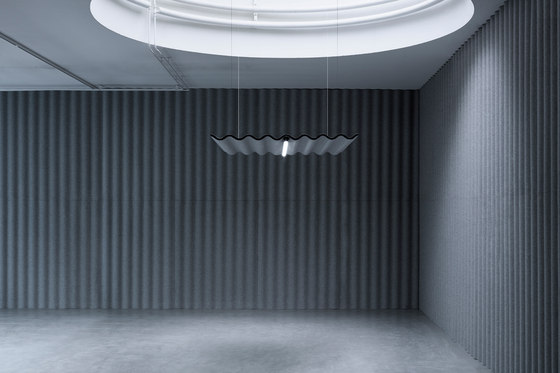 Scala de Abstracta | Paneles fonoabsorbentes de suspensión