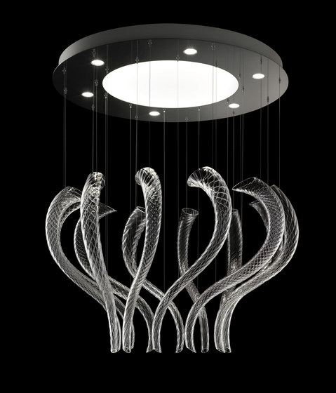 Swing by Barovier&Toso | Suspended lights