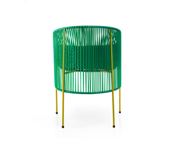 Caribe | dining chair, green/rose/curry by Ames | Restaurant chairs
