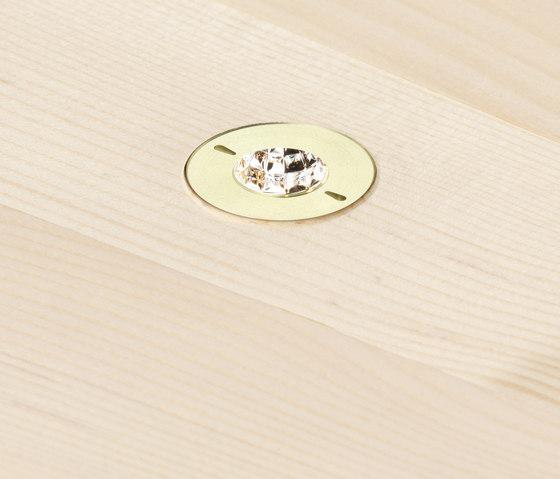 DOT 28 | Wood ceiling di GEORG BECHTER LICHT | Lampade soffitto incasso