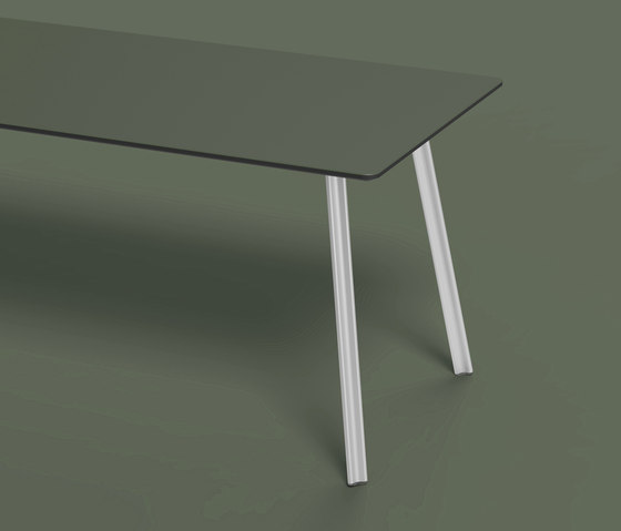 Beam linoleum table by Faust Linoleum | Dining tables